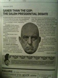 The Salem Massachusetts Presidential Debate