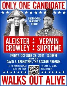 Aleister Crowley vs. Vermin Supreme