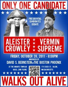 Aleister Crowley vs. Vermin Supreme