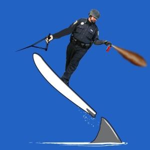 Militarized law enforcement as entertainment