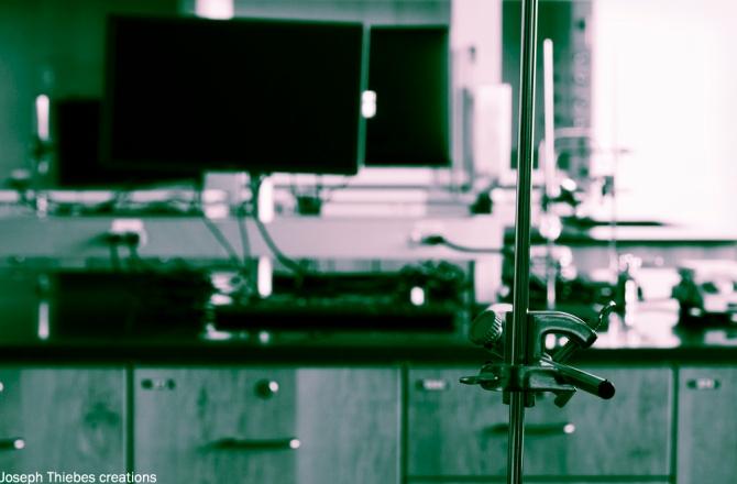 Laboratory. Photograph by Joseph Thiebes, 2014