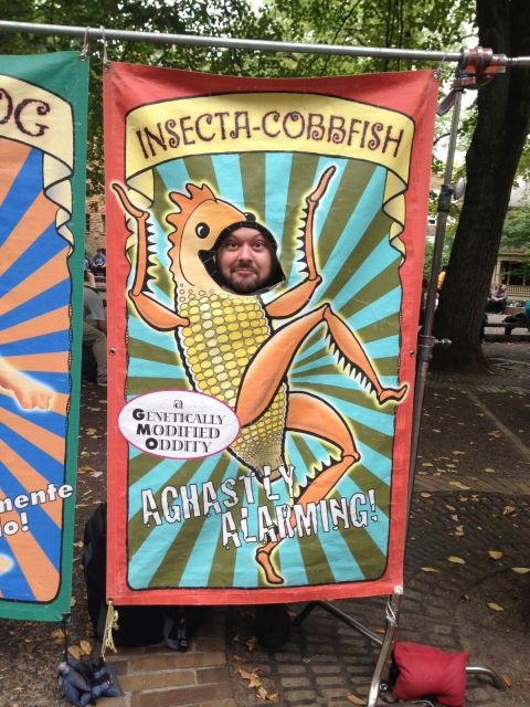 Joseph Thiebes as Insecta-Cobbfish!