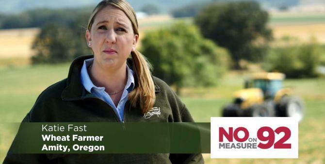 No on 92 campaign Oregon 2014