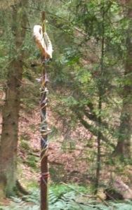 Maypole at Externsteine